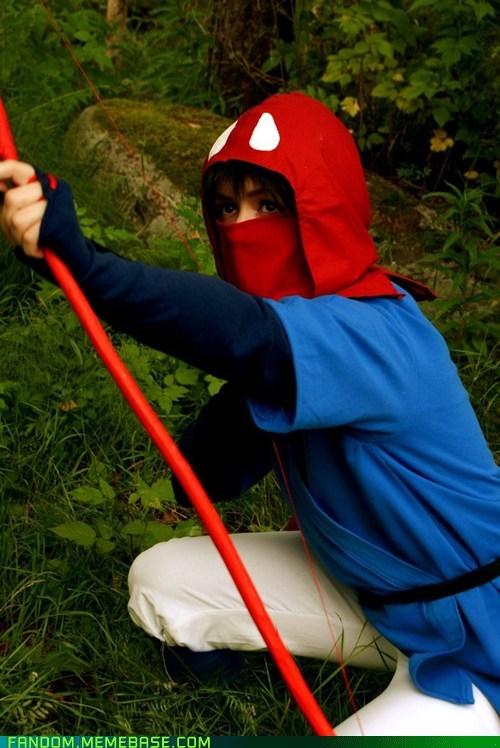 anime cosplay movies prince ashitaka princess mononoke - 6147850752