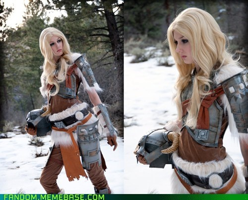 cosplay dovahkiin Skyrim video games