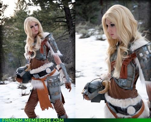 cosplay dovahkiin Skyrim video games - 6147999488
