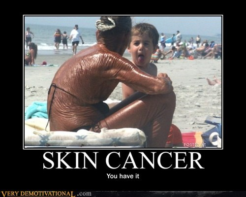 hilarious leather old lady skin skin cancer yikes - 6148064768
