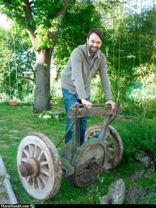 segway,wheels,wood,wooden