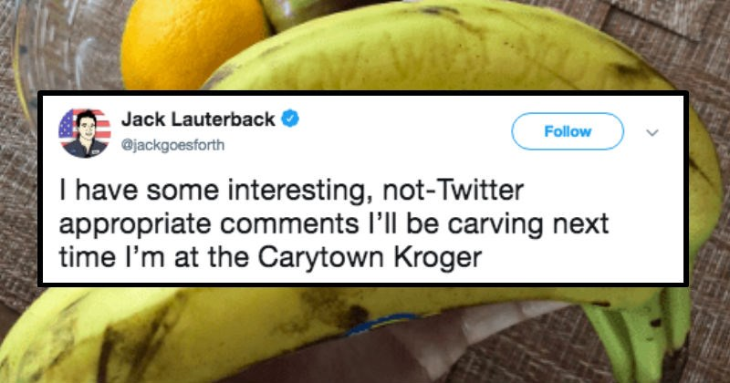 twitter bananas life hacks ghosts prank funny fruit - 6148357