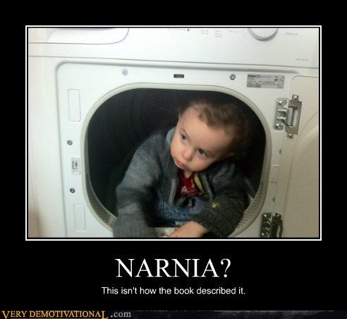 bad idea,book,dryer,hilarious,kid,narnia