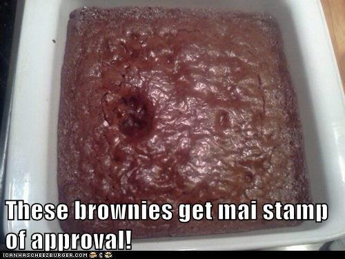 brownies cat food foot footprint nom stamp - 6149039104