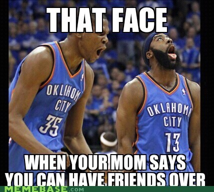 basketball friends harden Memes mom that face