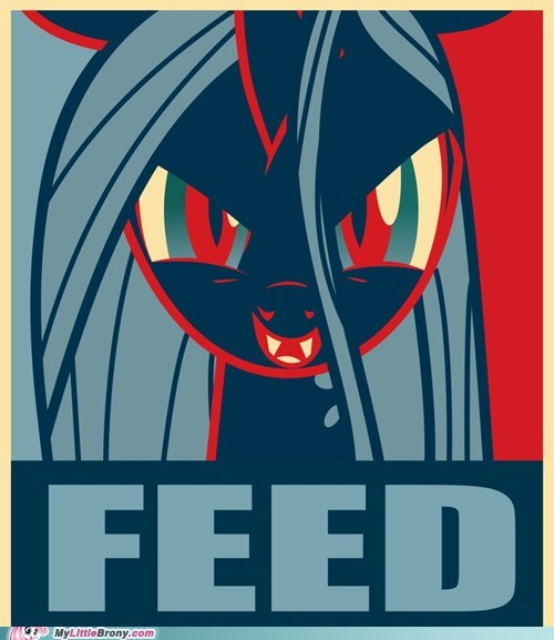 art awesome changeling feed meme poster - 6149182208