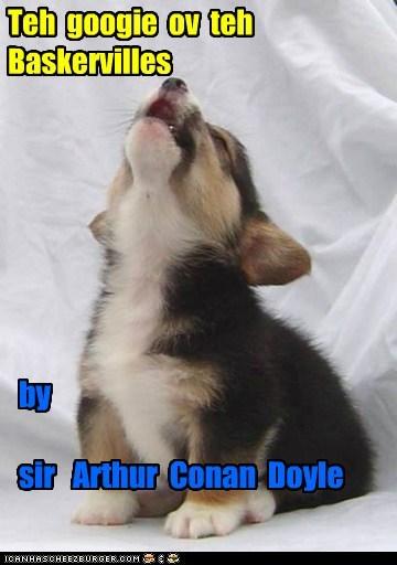 Teh googie ov teh Baskervilles by sir Arthur Conan Doyle