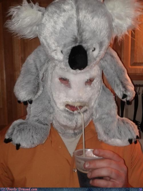 g rated,hat,mask,poorly dressed,silence of the lambs,stuffed animal