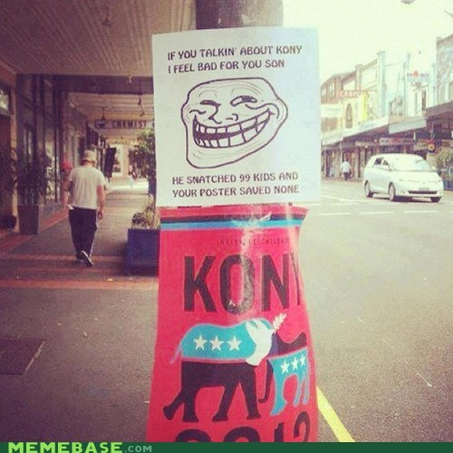 Kony,old times,paper,troll