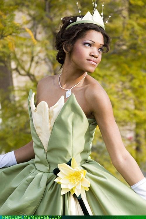 cosplay disney princess tiana the princess and the frog - 6149580800