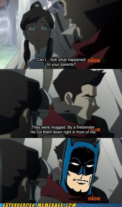 Avatar,batman,dead parents,Super-Lols