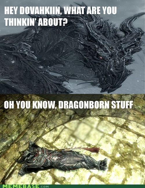 comic dovahkiin dragons meme Skyrim - 6149814272