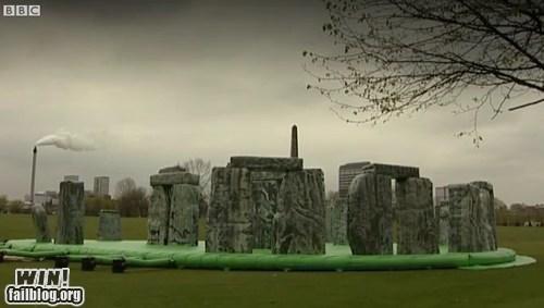 Bounce House bouncy design inflatable stonehenge - 6149822208