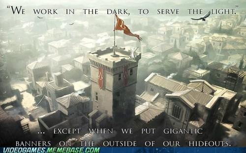 assassin dens assassins creed banners seems legit subtle the feels - 6149824512
