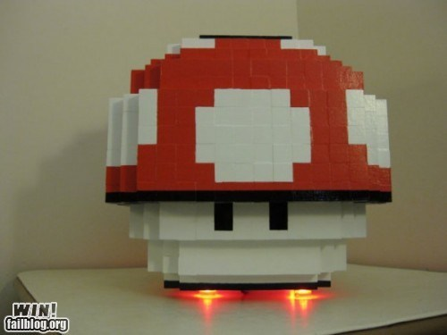 DIY,mod,mushroom,nerdgasm,super mario,video games