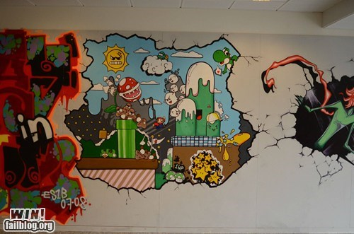 design nerdgasm school Super Mario bros - 6149837312