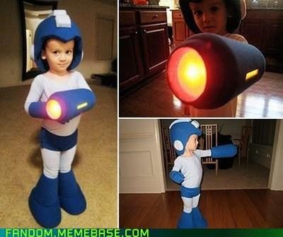 cosplay cute kid megaman video games
