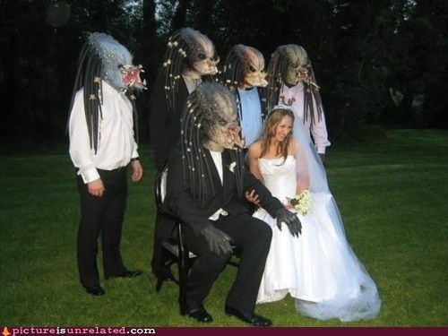 Movie Predator wedding wtf - 6149945344