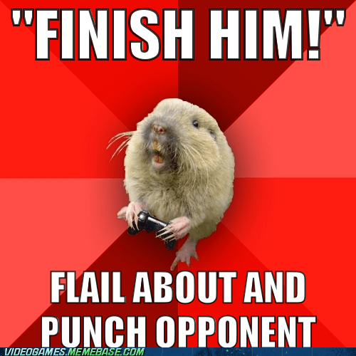finish him gaming gopher meme Mortal Kombat - 6149992704