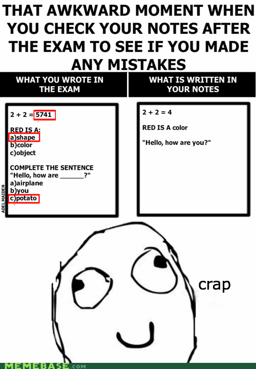 Awkward Moment,potato,Rage Comics,test