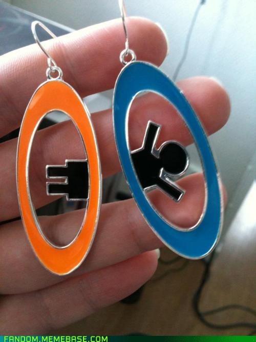 earrings Fan Art Portal video games - 6150071296