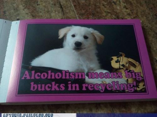 alcoholism,puppy