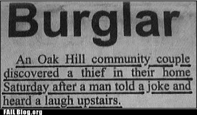 burglar dumb criminal fail nation g rated joke laughing - 6150209792