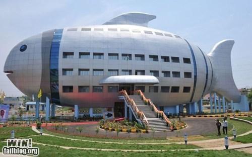 architecture building design fish - 6150256640