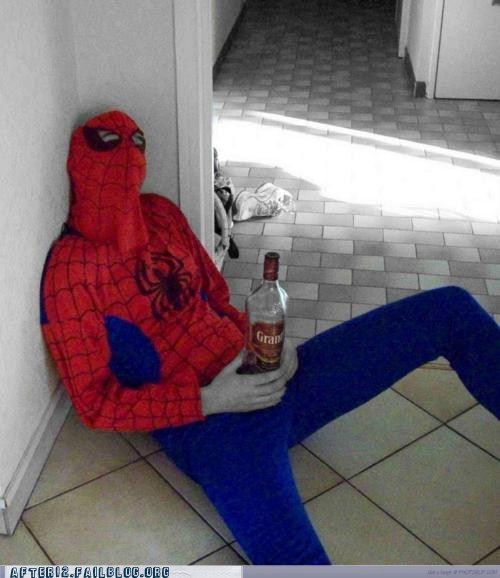 grand marnier Spider-Man funny