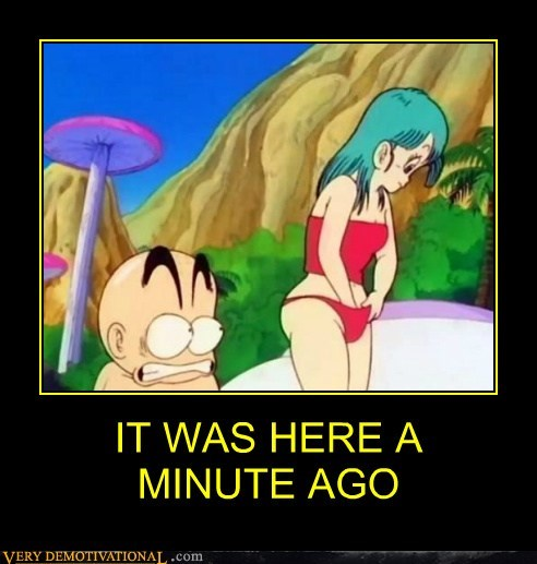 bulma Dragon Ball Z hilarious krillin - 6150465792