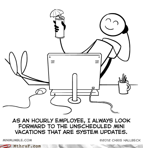 employee,hourly wages,system updates,vacations