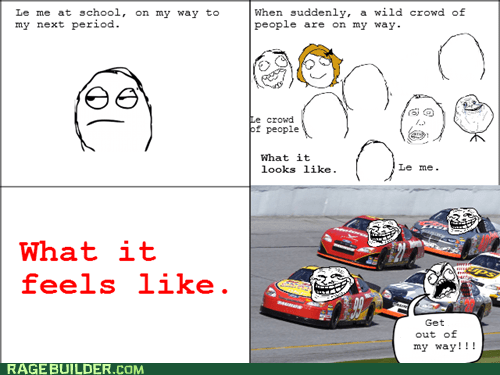 crowd,race,Rage Comics,truancy story