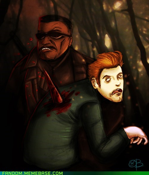 blade crossover Fan Art twilight vampires - 6150729728