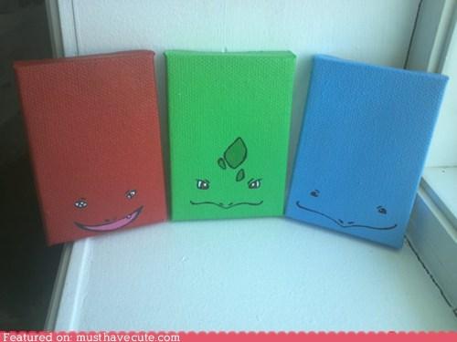 faces paintings Pokémon simplified - 6151380736