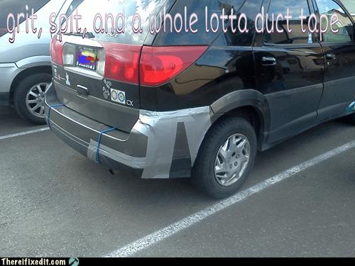 bumper duct tape grit spit - 6151390464