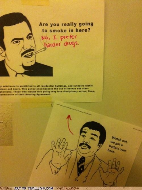 drugs IRL Neil deGrasse Tyson smoke - 6151792896