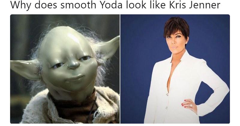 star wars memes smooth yoda memes star wars yoda memes smooth yoda yoda michael jackson smooth criminal yoda wearing makeup trending memes - 6151941