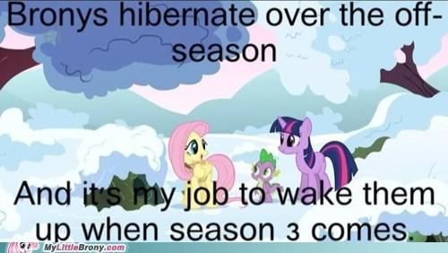 brb fluttershy hibernating meme roleplay season 3 twilight sparkle - 6152282880