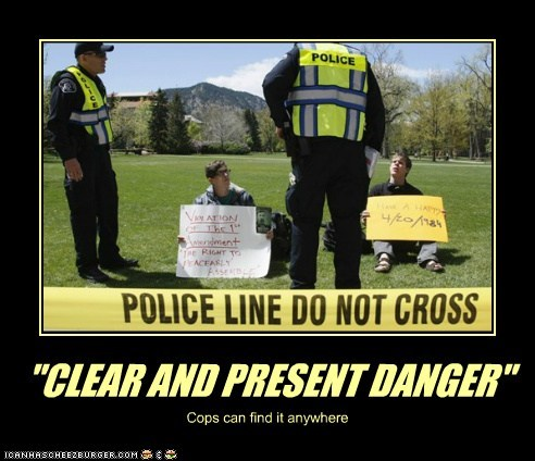 """""""CLEAR AND PRESENT DANGER"""" Cops can find it anywhere"""