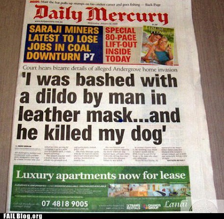 assault daily mercury dildont killed my dog Probably Bad New - 6152984320