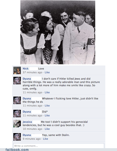 genocide hitler not cool - 6152992512
