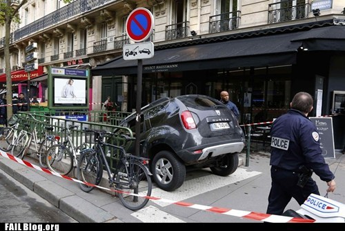 car europe parking fail Subway - 6153163776