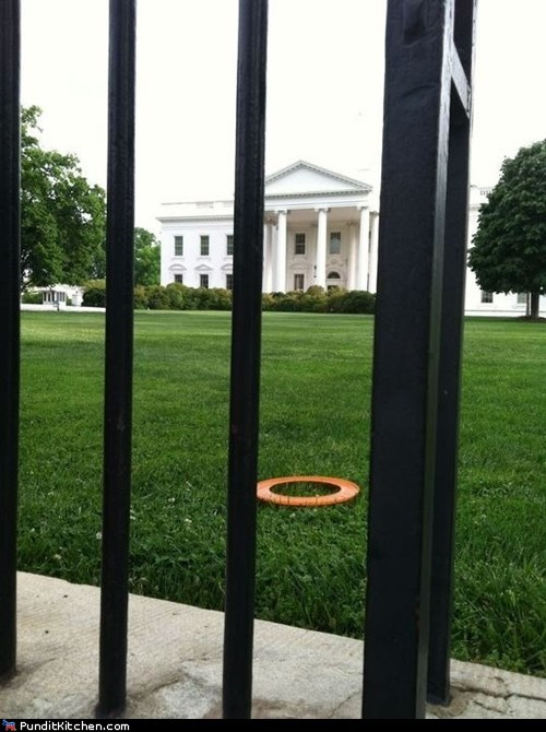 frisbee political pictures White house - 6153577472