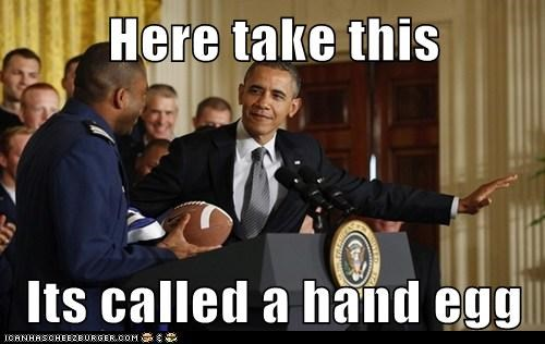 barack obama football political pictures