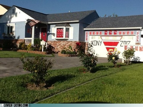 decorate,garage,Kony,lazy,Protest