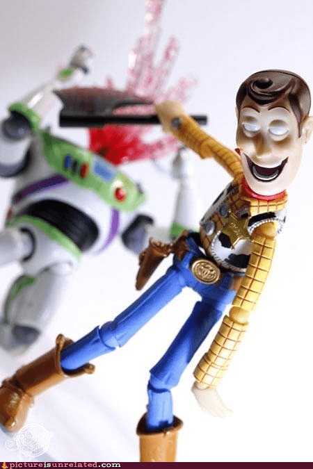 best of week buzz lightyear murder toy story woody wtf - 6153698816