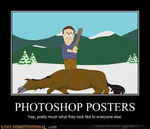 beating a dead horse,hilarious,photoshop,posters,South Park