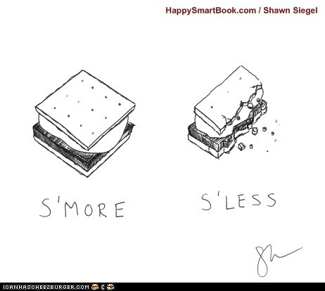 double meaning less literalism more smore suffix