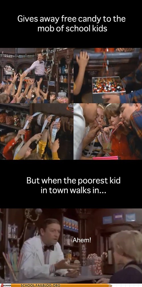candy shop occupy wonka poorest kid in town Willy Wonka - 6153969664