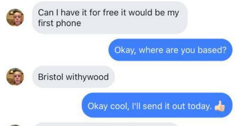 trolling conversation choosy beggar texting funny - 6153989